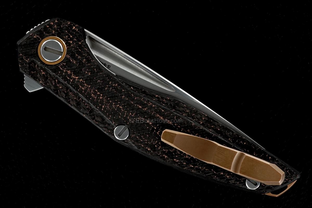 Sergey Shirogorov Custom Division Model 111 Bronze Flipper