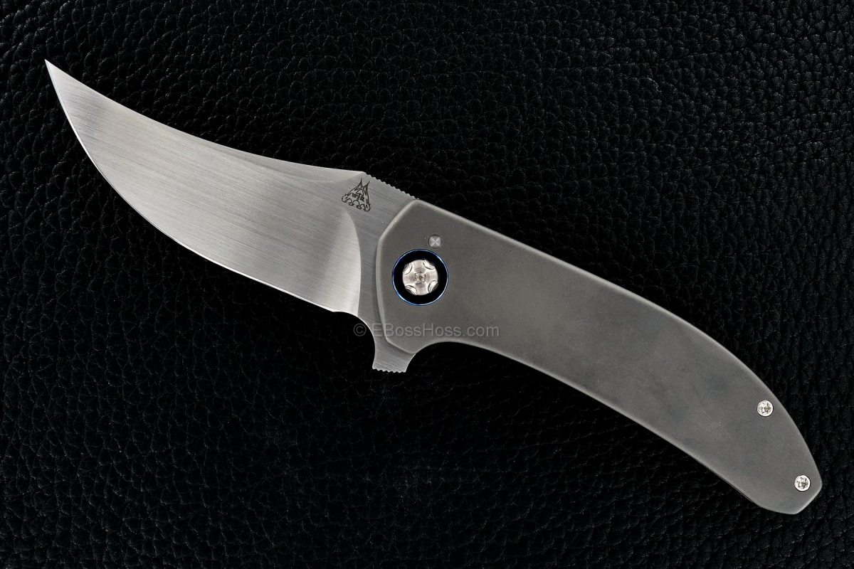 Walter Randolph (WR Bladeworks) Custom Mini Persian Flipper