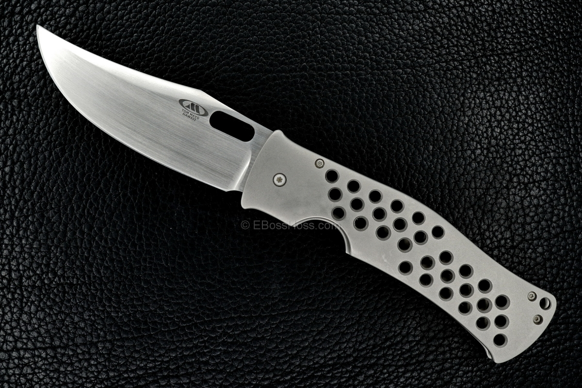 Tom Mayo Custom Moran-esque XL Bowie Framelock Folder