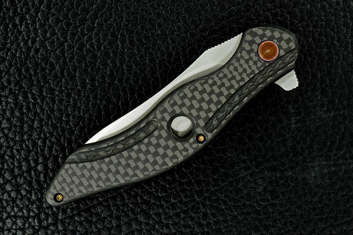 Gerry McGinnis Custom Mini Peligro R Flipper