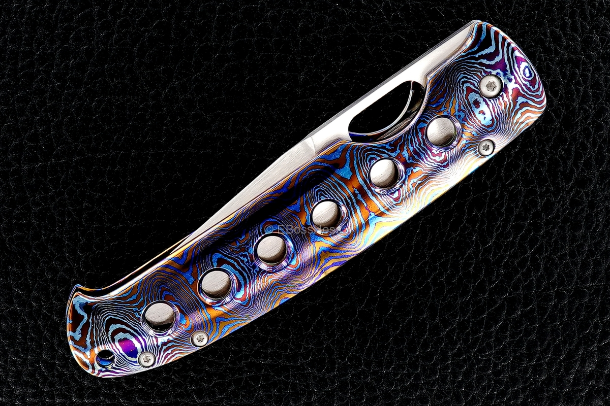 Tom Mayo Custom Deluxe Parrot Beak Folder