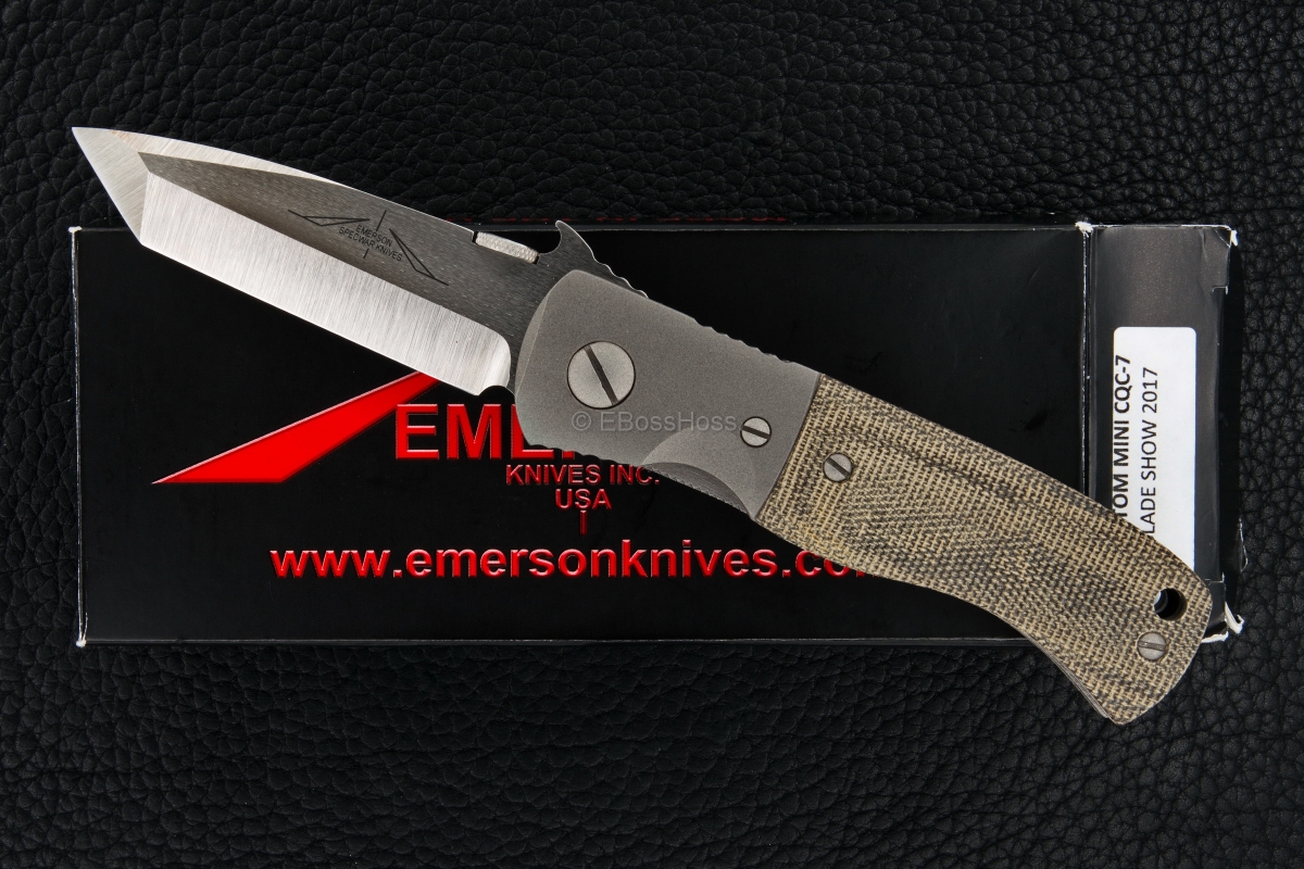Ernie Emerson Custom Mini CQC-7 Wave