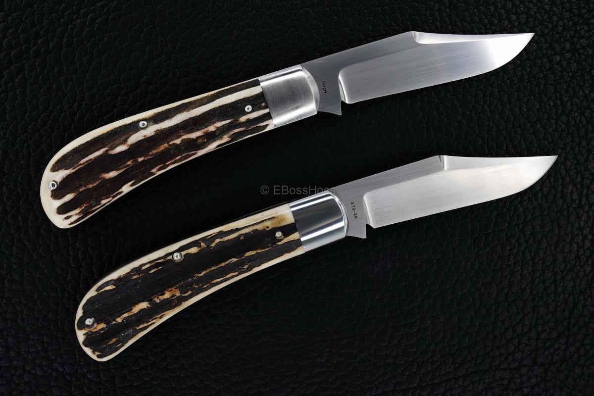 Tony Bose and Reese Bose Custom Bolstered Slip Joints