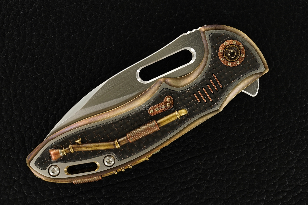 Rick Lala (Korth) Custom Steampunk Sentry Flipper