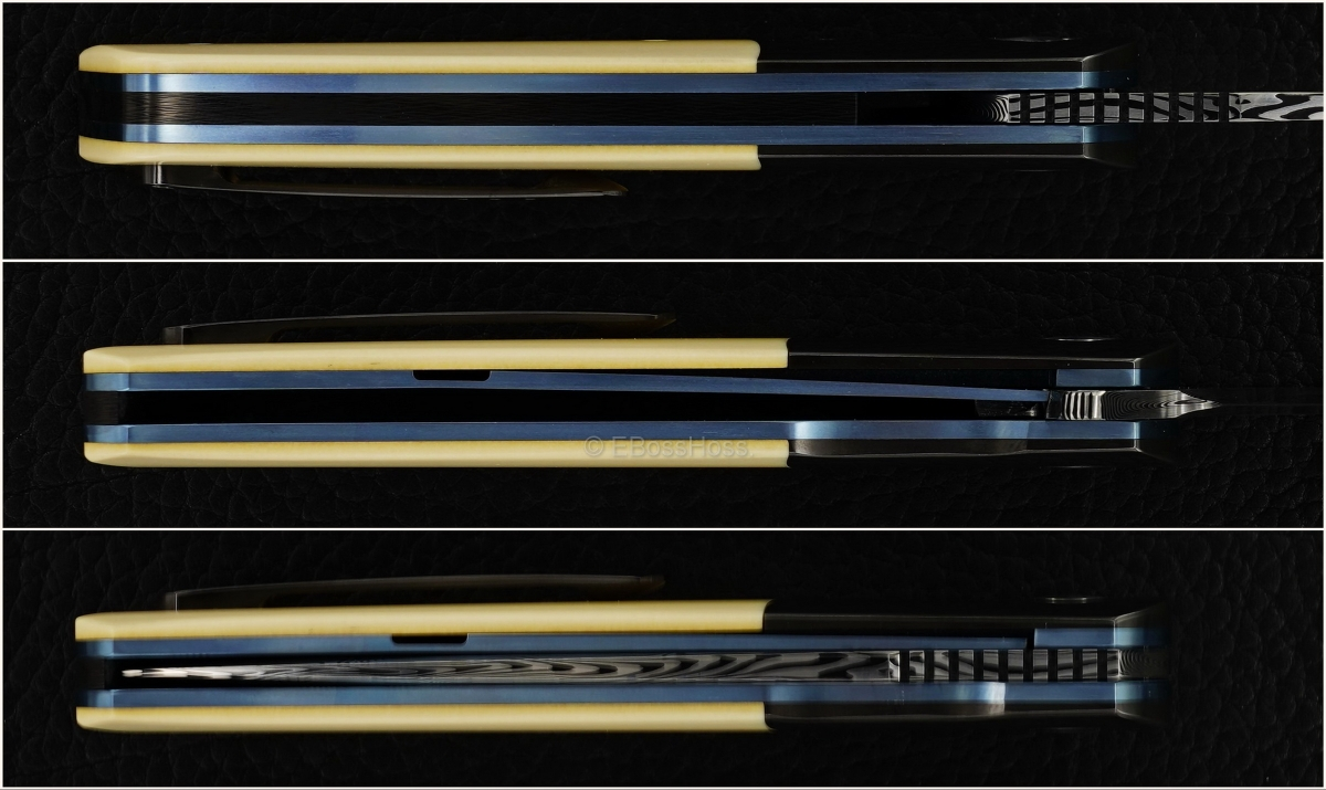 A2 Knives (by Andre Thorburn & Andre van Heerden) Custom A7 Tanto Premium Flipper