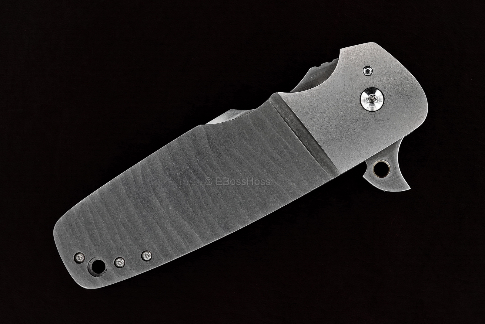 Reese Weiland Custom Harpoon Bolsterlock Flipper