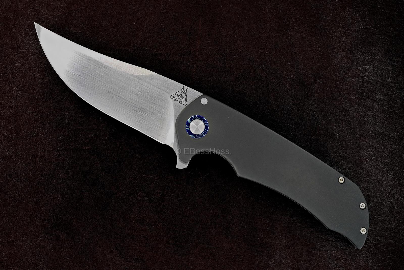 Walter Randolph (WR Bladeworks) Custom Wyvern Flipper