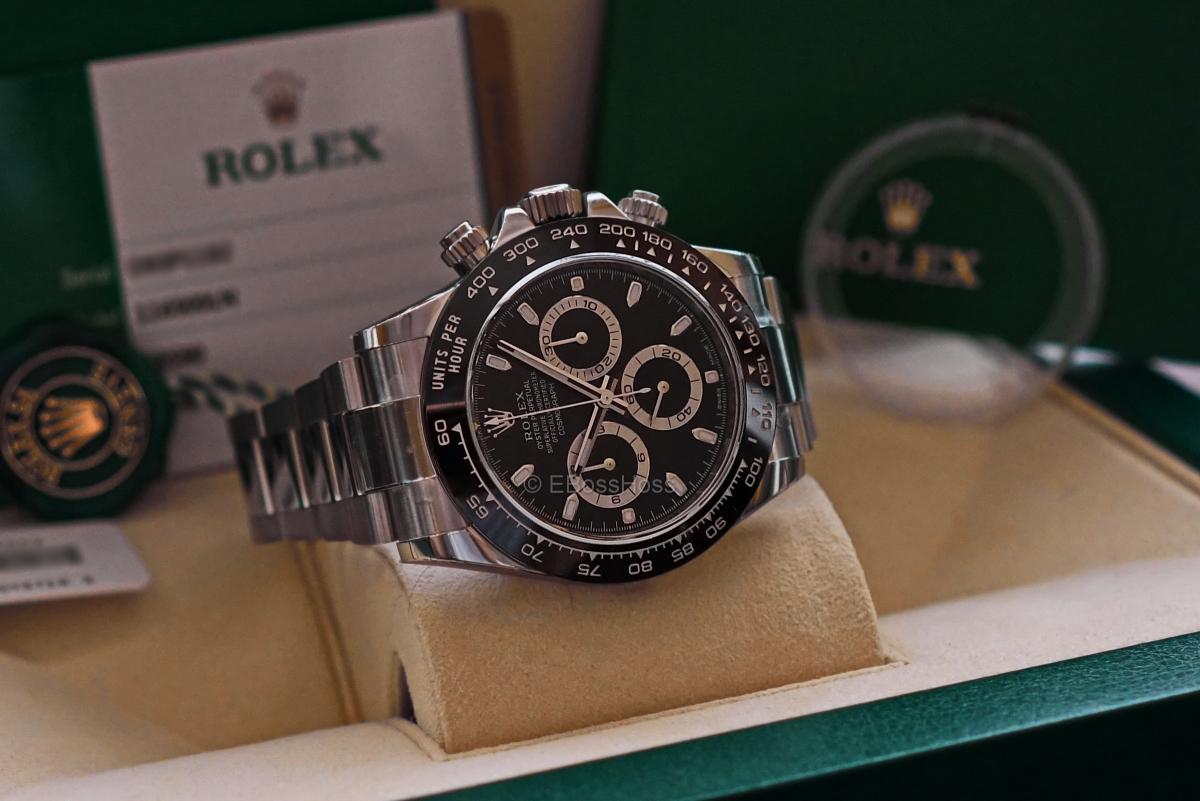 ROLEX SS Ceramic-Bezel Daytona - Ref 116500LN