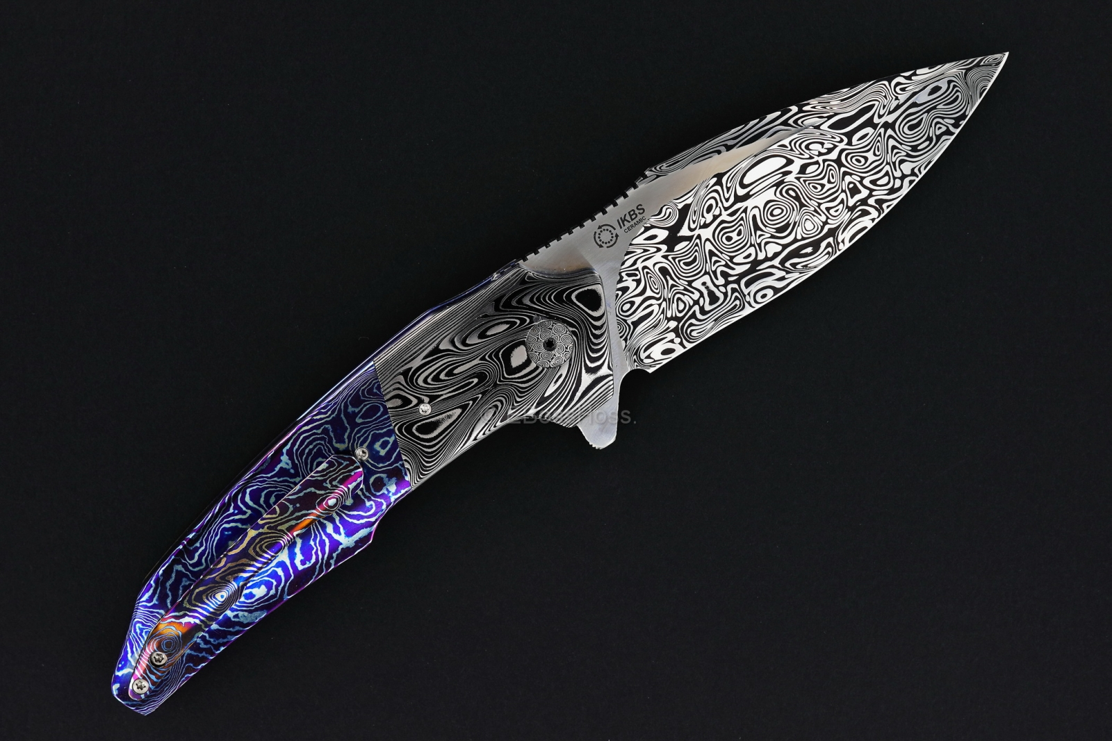 A2 Knives & Tashi Bharucha Custom Very Premium A6 Flipper Collaboration