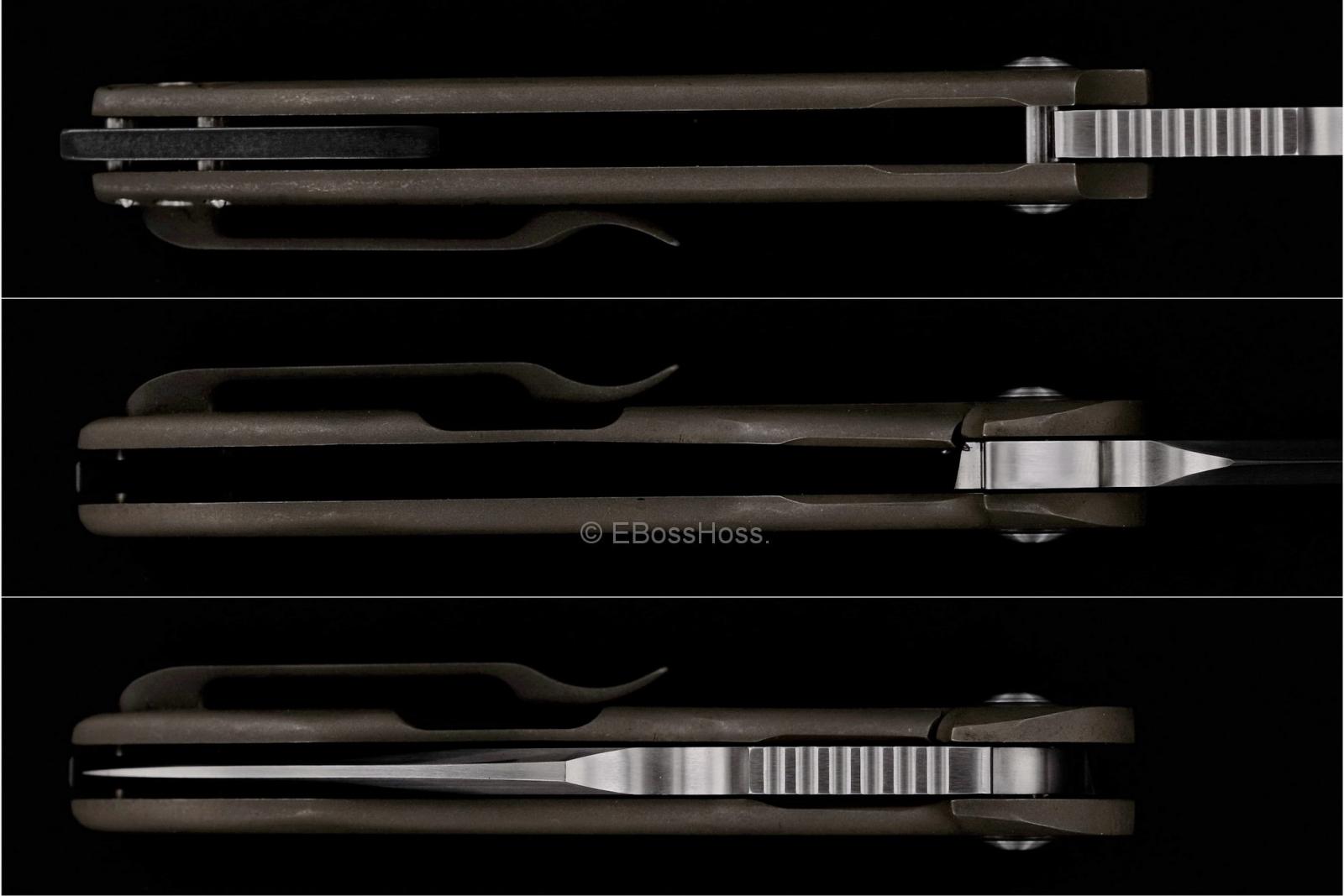 Michael Burch Custom EDC Genesis Framelock Flipper