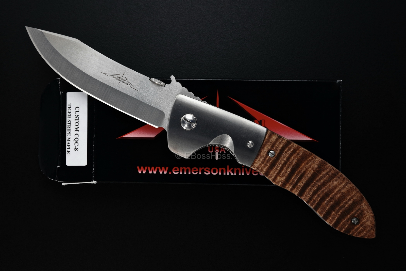 Ernie Emerson Custom Deluxe CQC-8 w/Wave