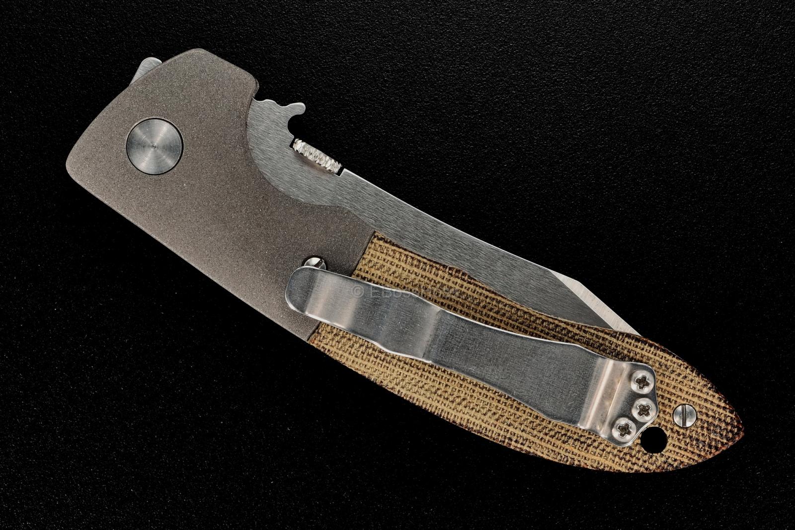 Ernie Emerson Custom Bolstered Mini CQC-8 (aka: Horseman)