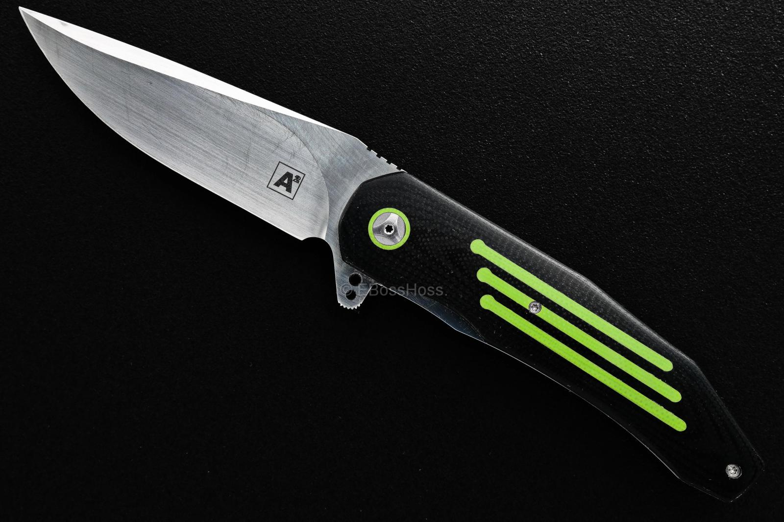 A2 Knives, Thorburn, van Heerden Custom A5 Flipper