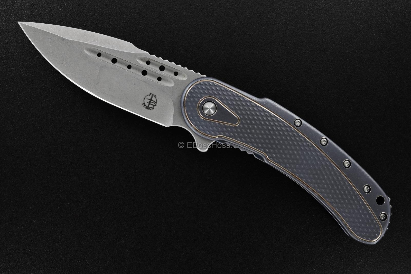 Todd Begg Knives Beggatti Framelock Flipper