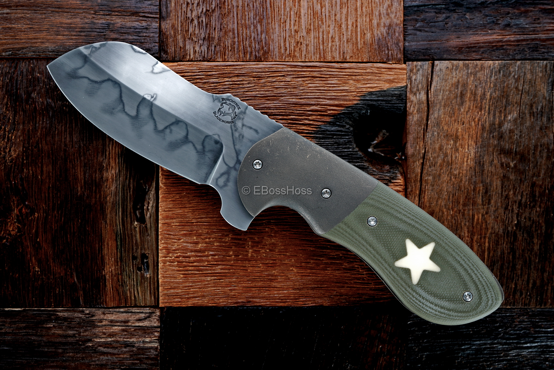 Michael Burch Custom Bolstered Brigadier Impetus Flipper
