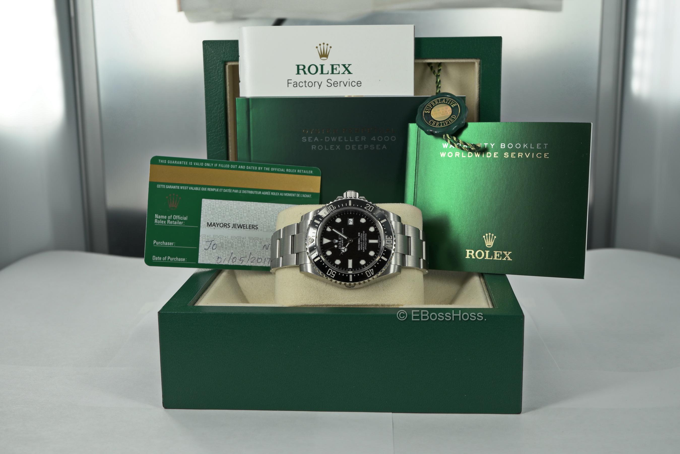 Rolex SEA-DWELLER 4000 - Ref. 116600