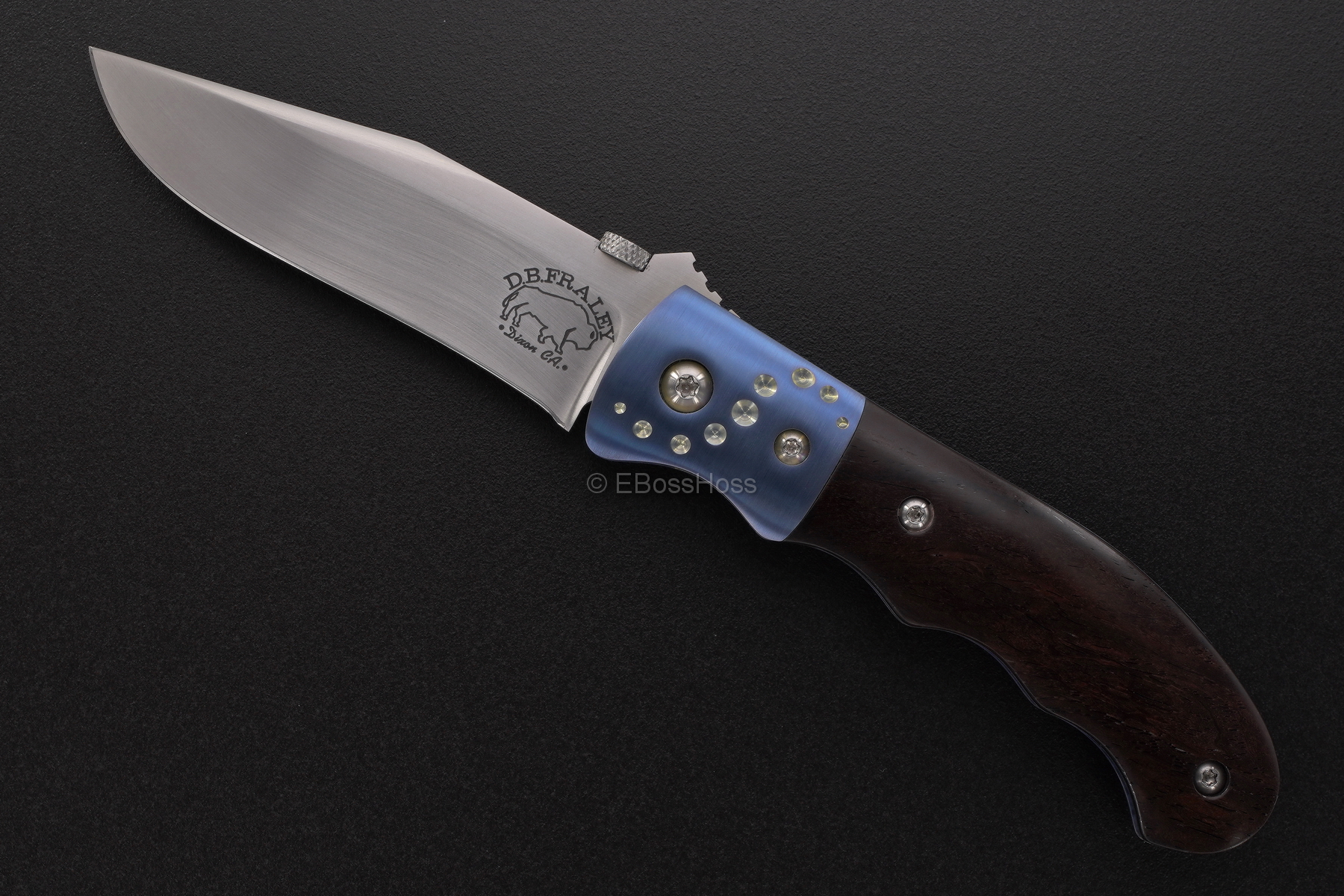 D.B. Fraley Custom Bolstered Deluge Folder