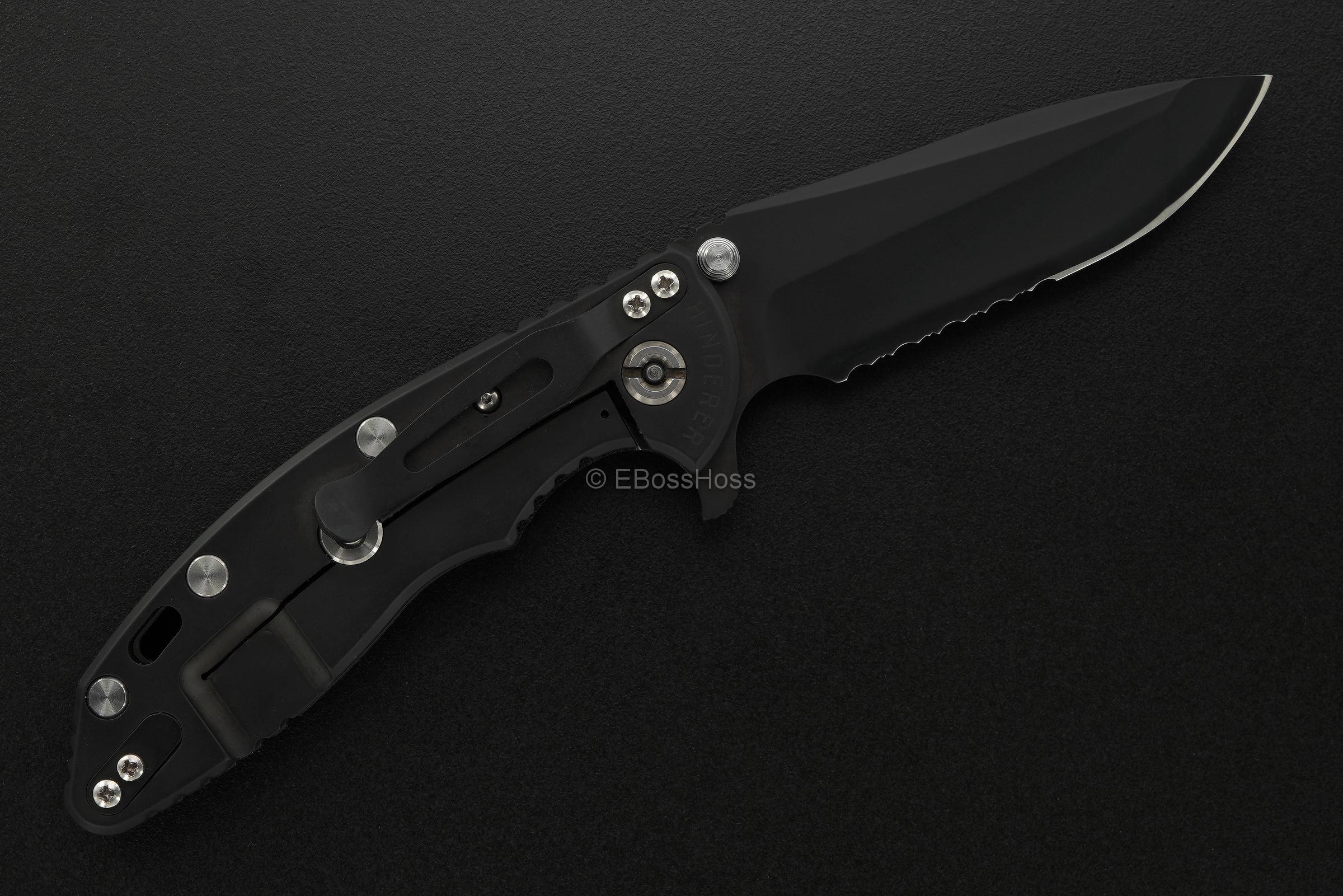 Rick Hinderer Custom XM-18 Flipper -- Swiss SWAT Limited Edition