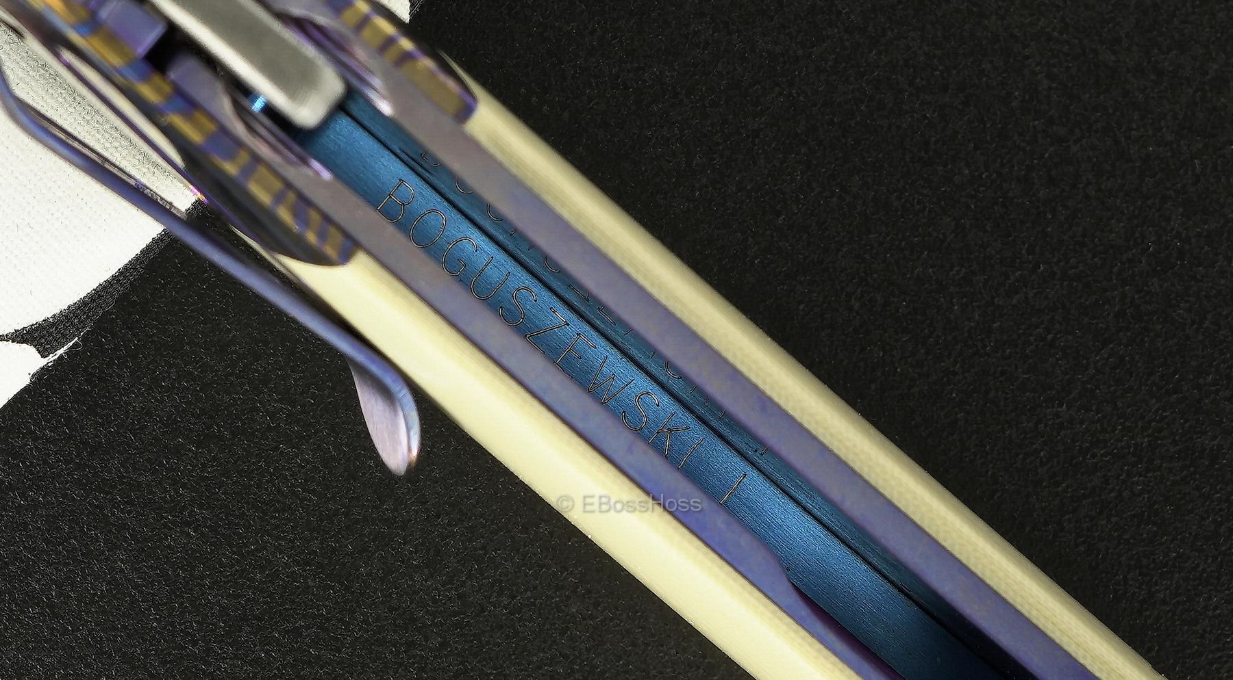 Phil Boguszewski Custom Bolstered Mini Classic Flipper