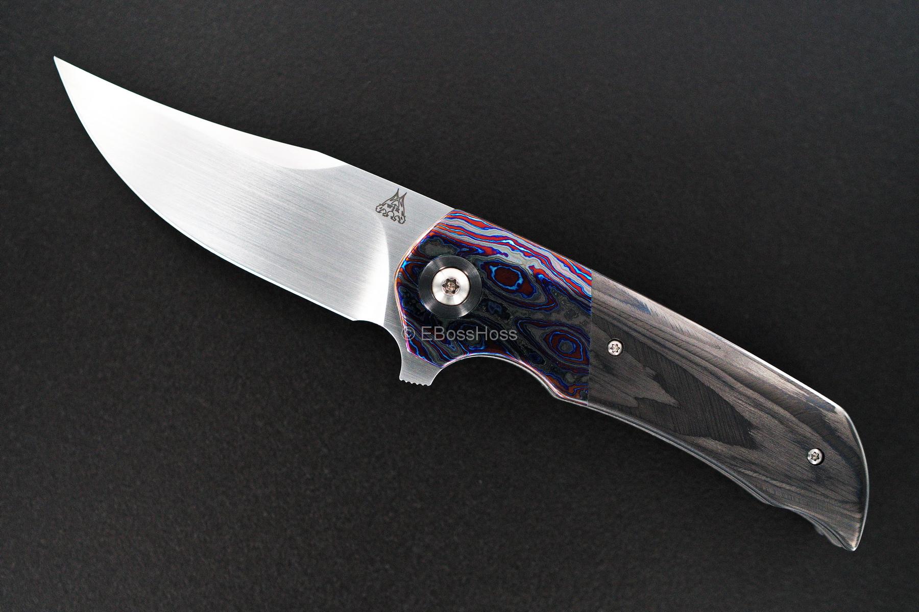 WR Bladeworks Custom Deluxe Mini Wyvern Flipper