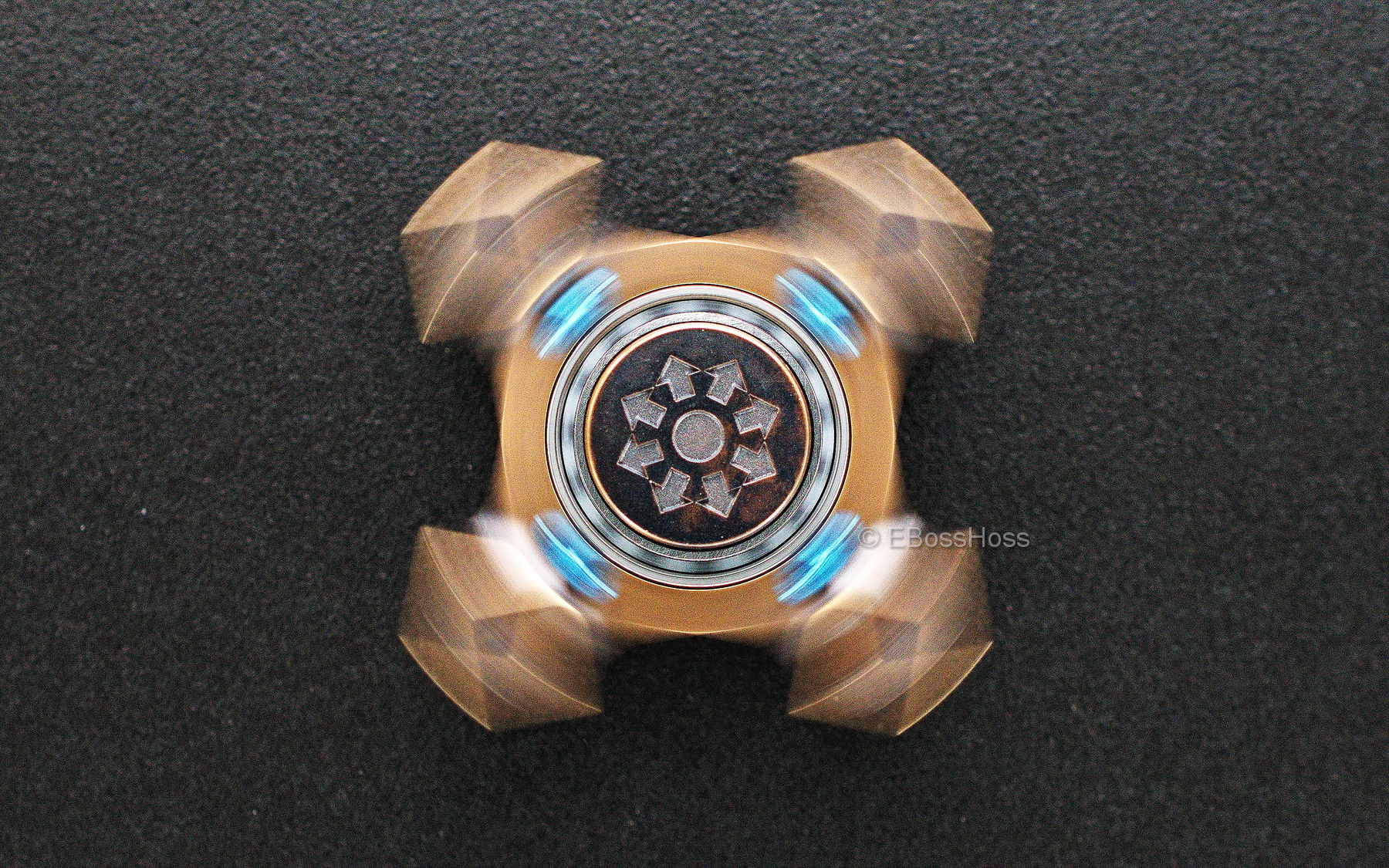 Steel Flame  Spin KillboX -- Wes Obatake 1st Edition