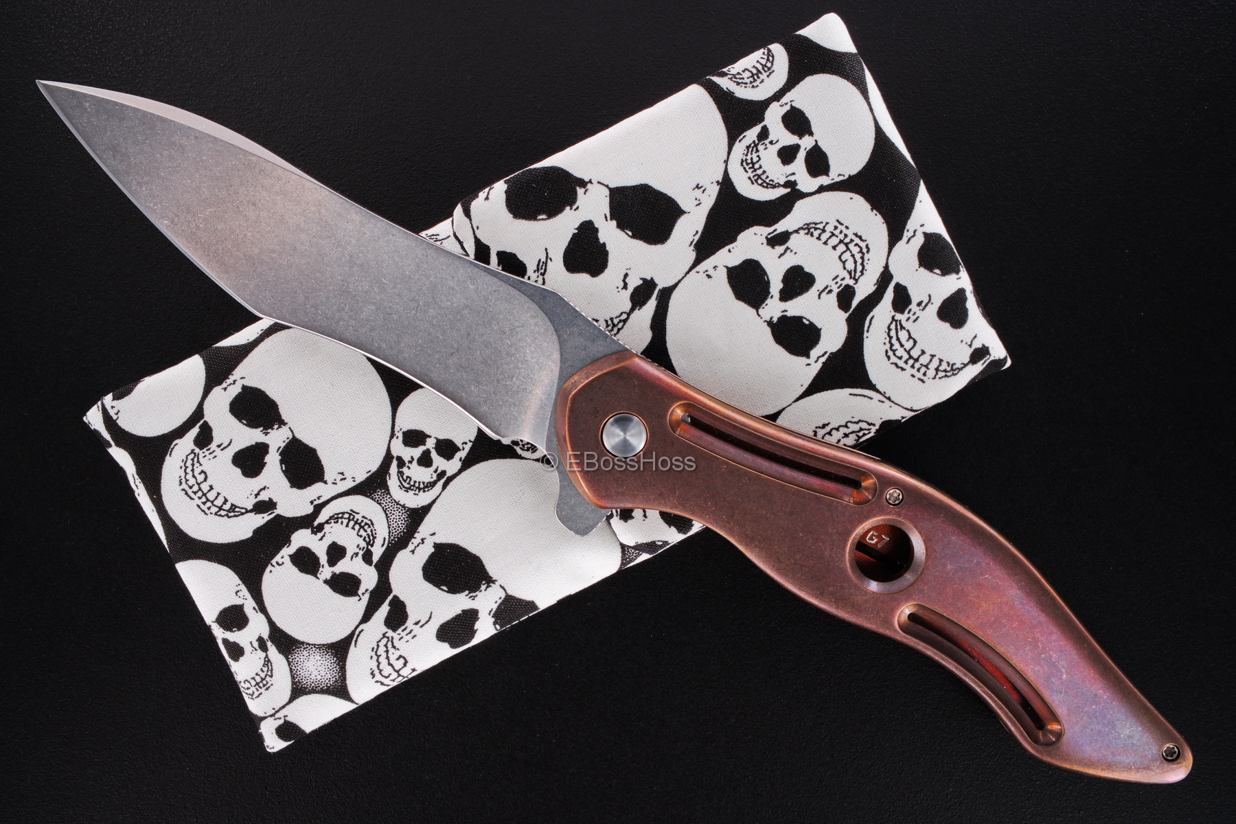 Gerry McGinnis Custom Peligro R Flipper
