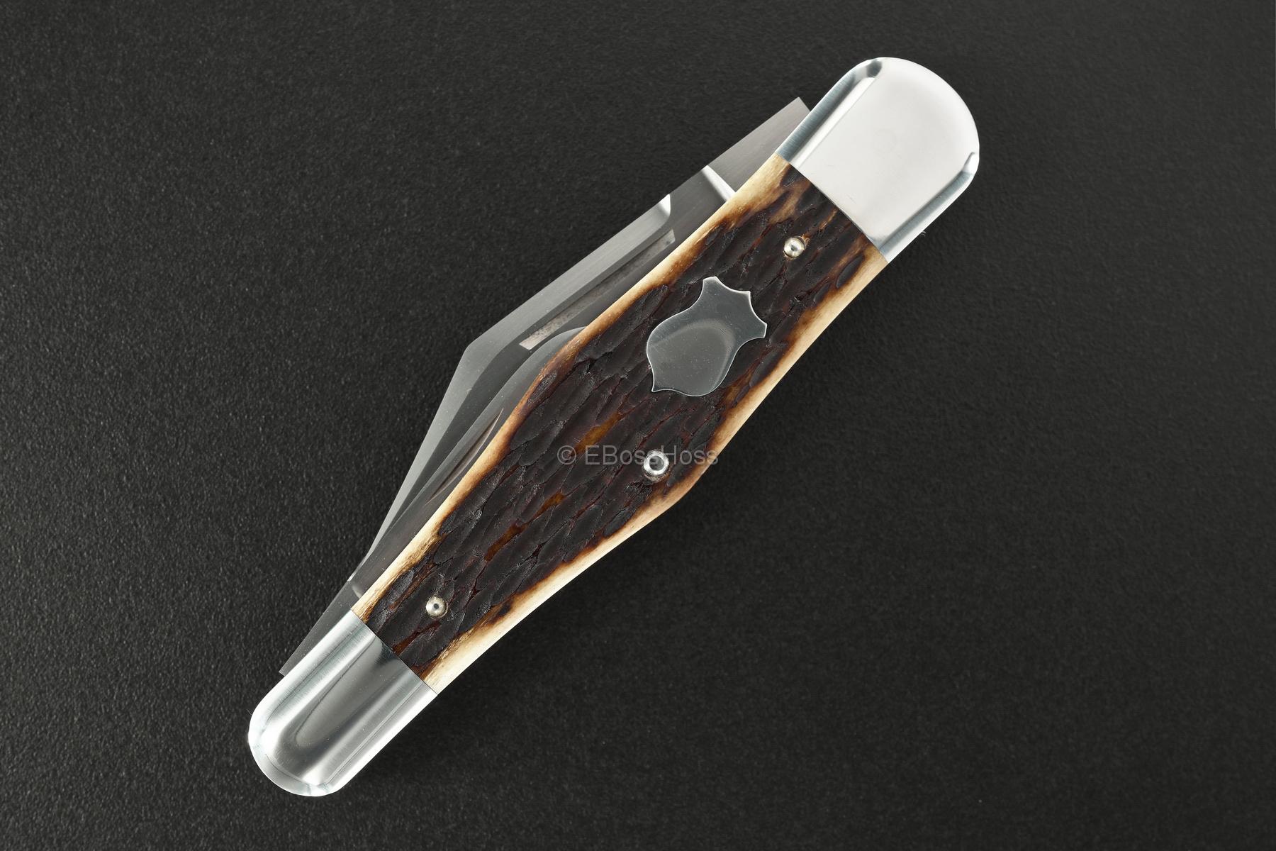 Reese Bose Custom Jigged Rem-Bone Northfield Split Spring Whittler