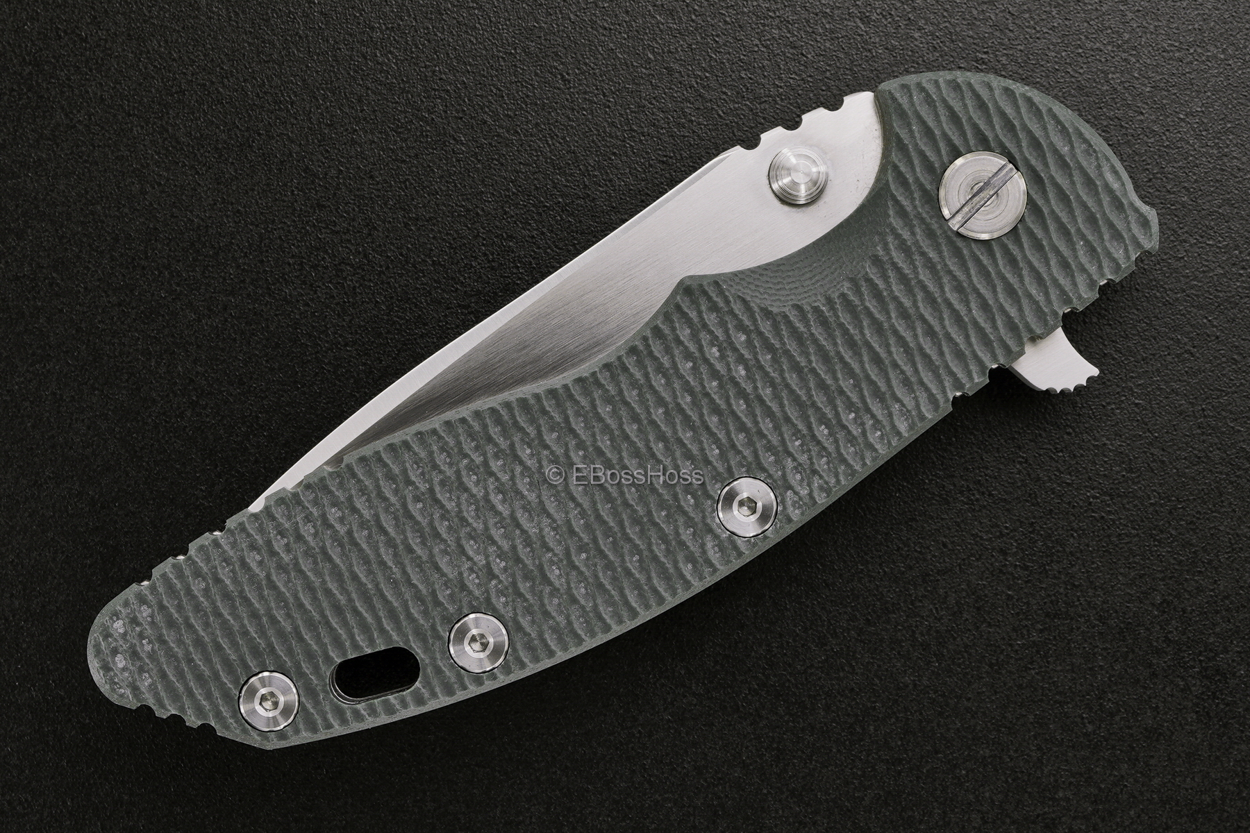 Rick Hinderer Custom XM-18 Spanto Flipper