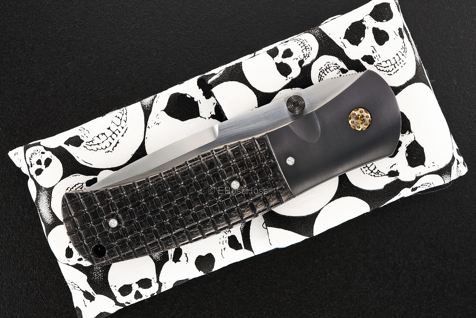 John W.  Smith Custom Deluxe SD-Tactical Folder - Monkey Edge Edition