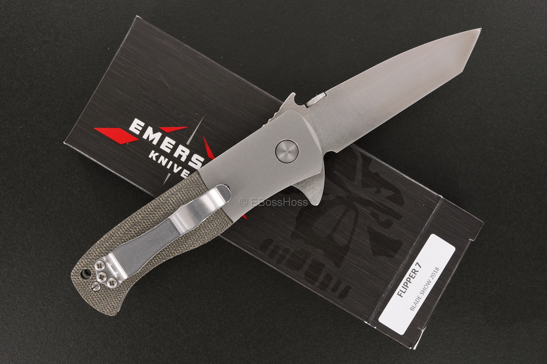 Ernie Emerson Custom Flipper 7