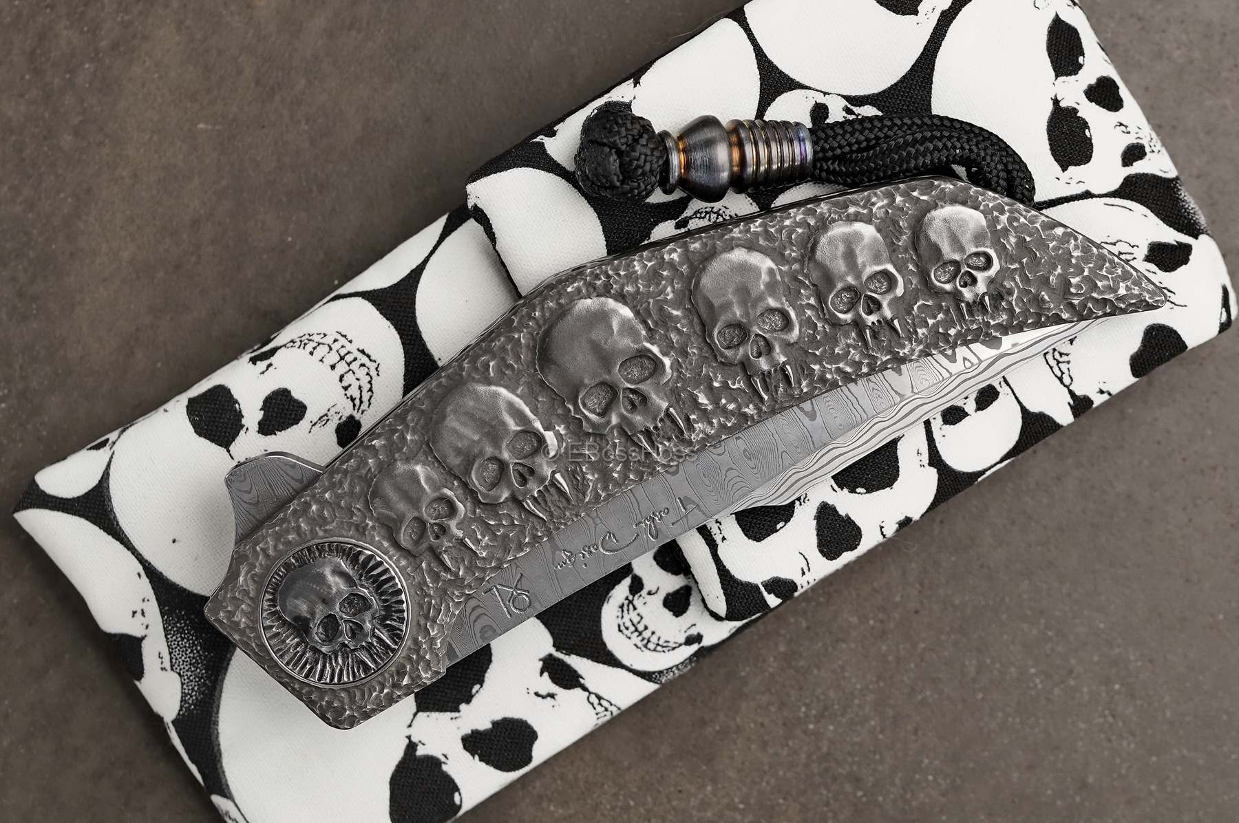 Gudy van Poppel Custom Deluxe Engraved Xerxes Flipper Collaboration