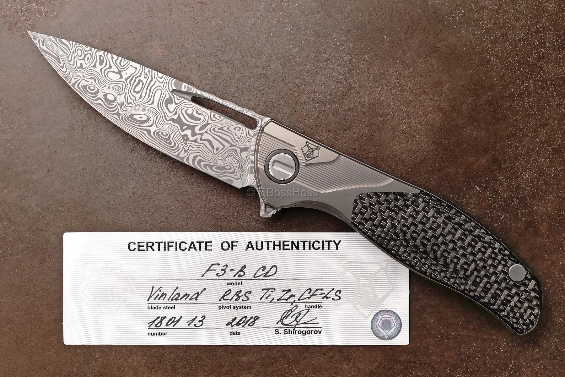 Sergey Shirogorov Custom Division Deluxe F3-B Flipper