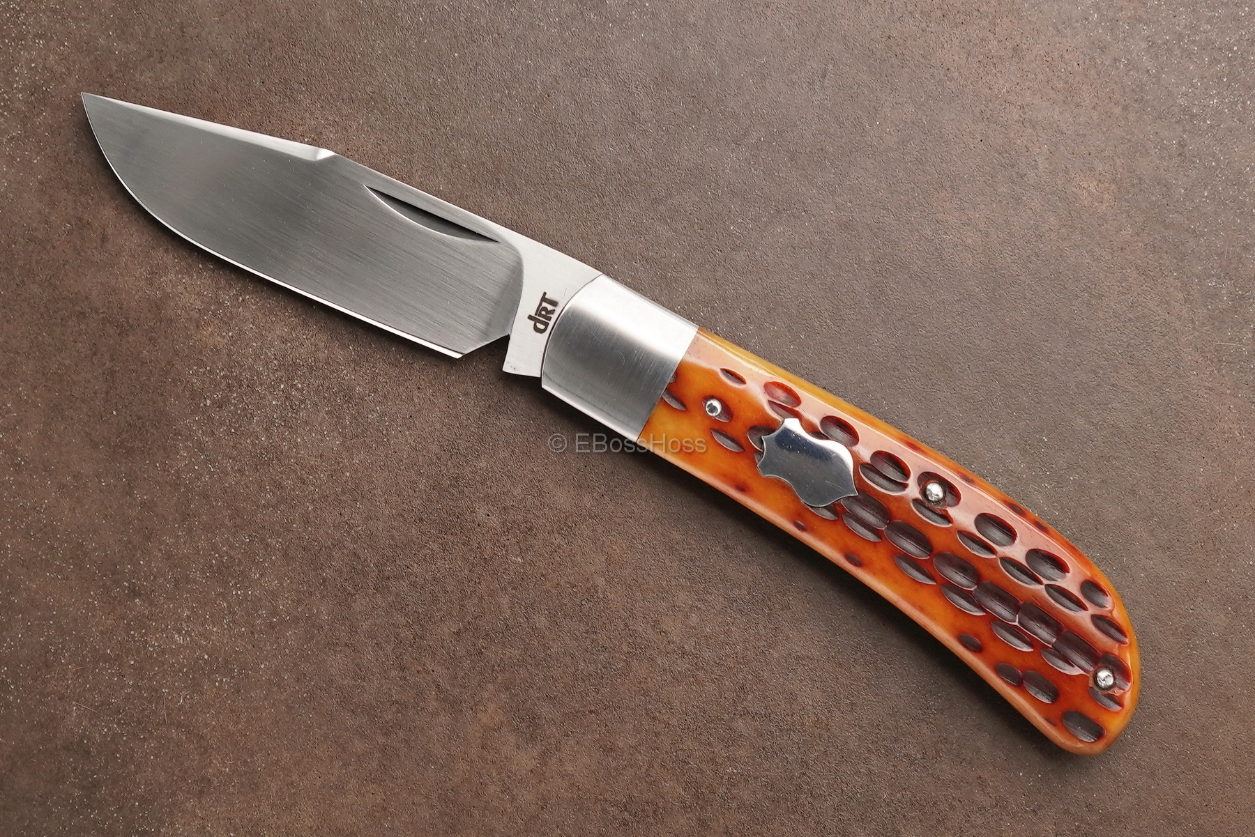 Dr T Knives / Tabor Custom Lanny's Clip Slip Joint