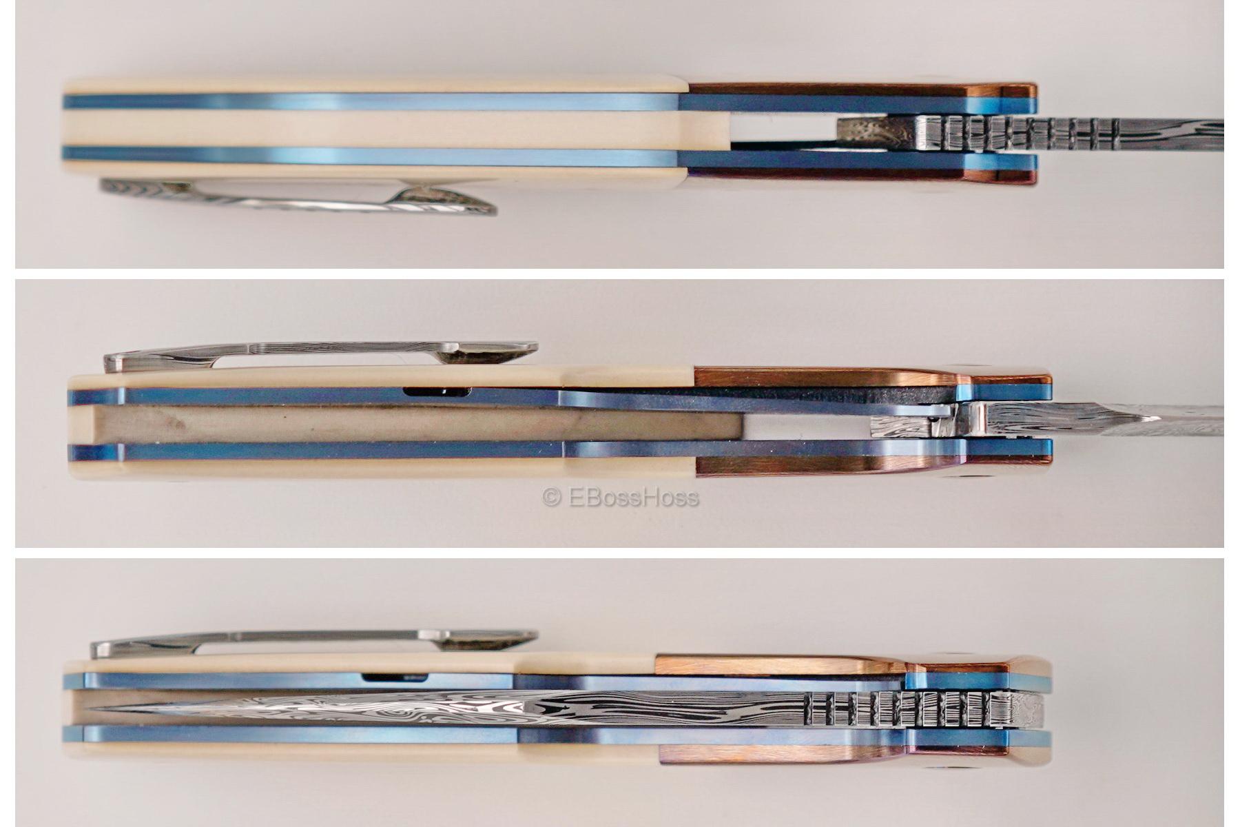 A2 Knives, Bharucha, Thorburn, van Heerden Custom A8 Premium Flipper