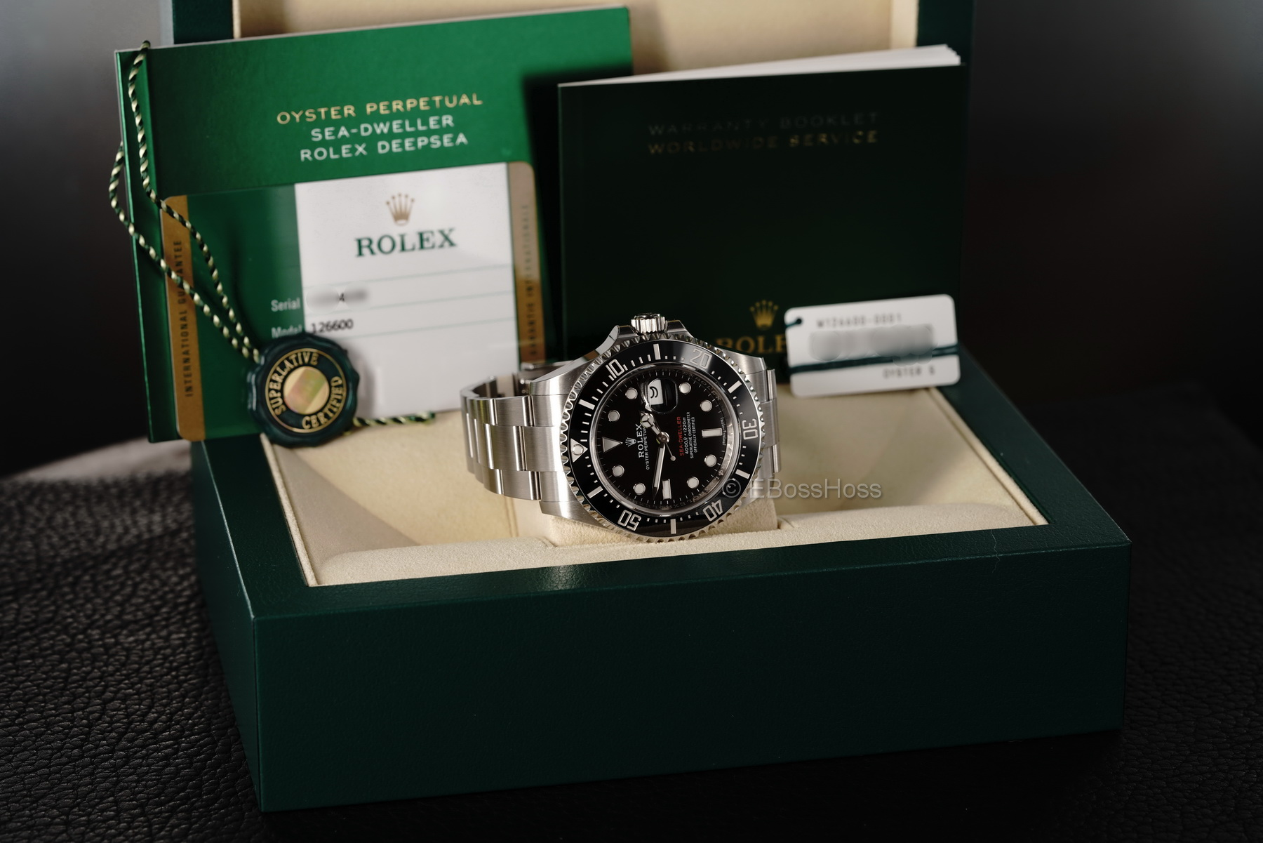 Rolex 43mm Red Reference SEA-DWELLER -126600