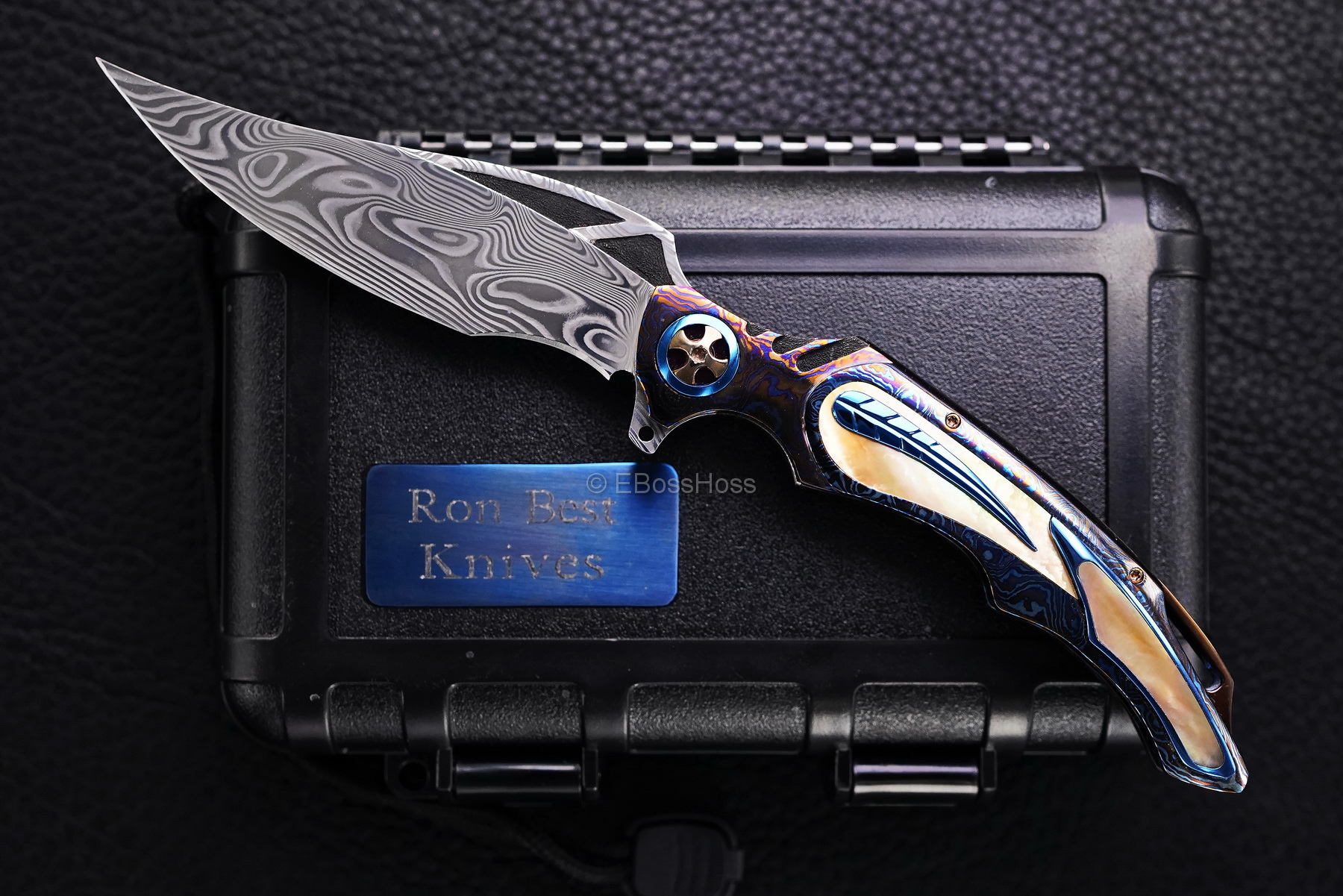 Ronald Best Custom Very Deluxe Phaze Junior Flipper