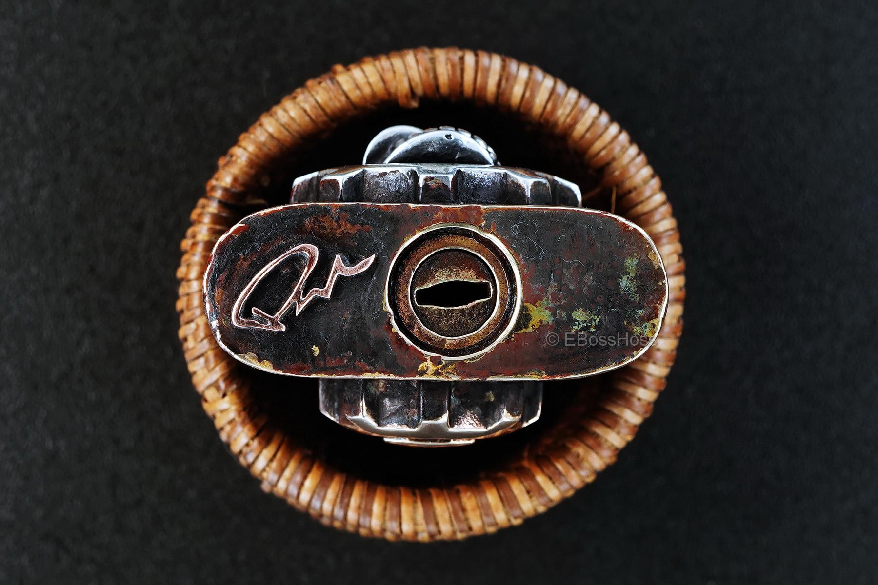 Starlingear Starlingear Custom Brass Yale Lock & Key, and Leather Case
