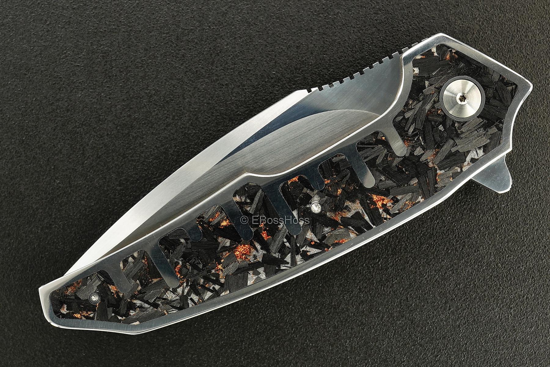 A2 Knives, Bharucha, Thorburn, van Heerden Tashi Bharucha Custom A6 Skyline Flipper