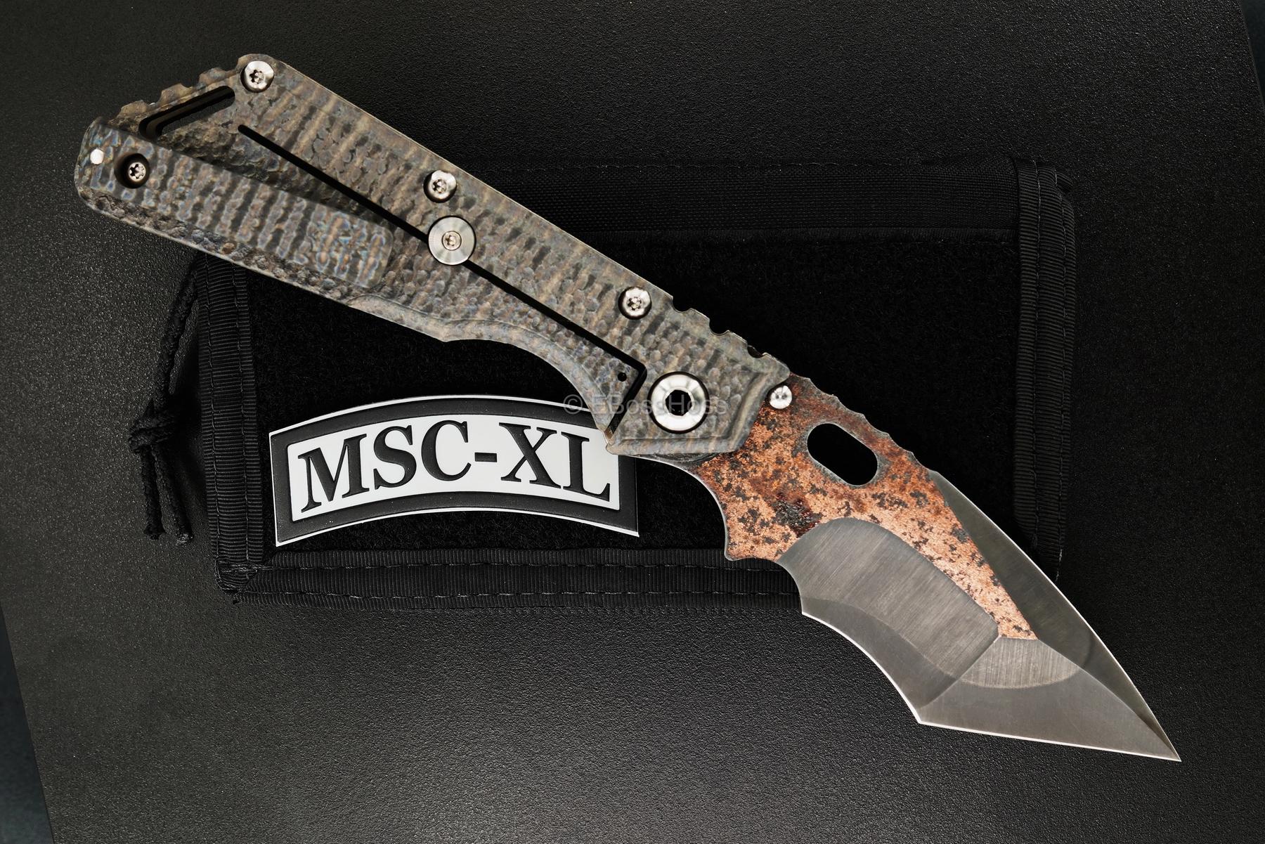 Mick Strider Custom (MSC) Deluxe Nightmare Big-Belly Tanto XL