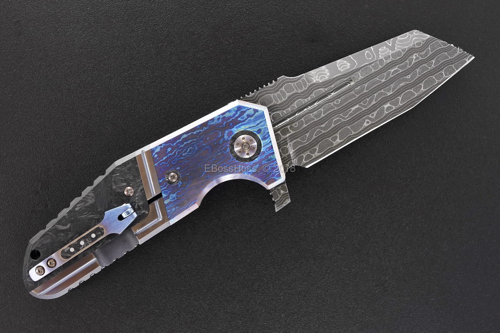 Shane Sibert Custom Very Deluxe Bolsterlock Pocket Rocket Flipper