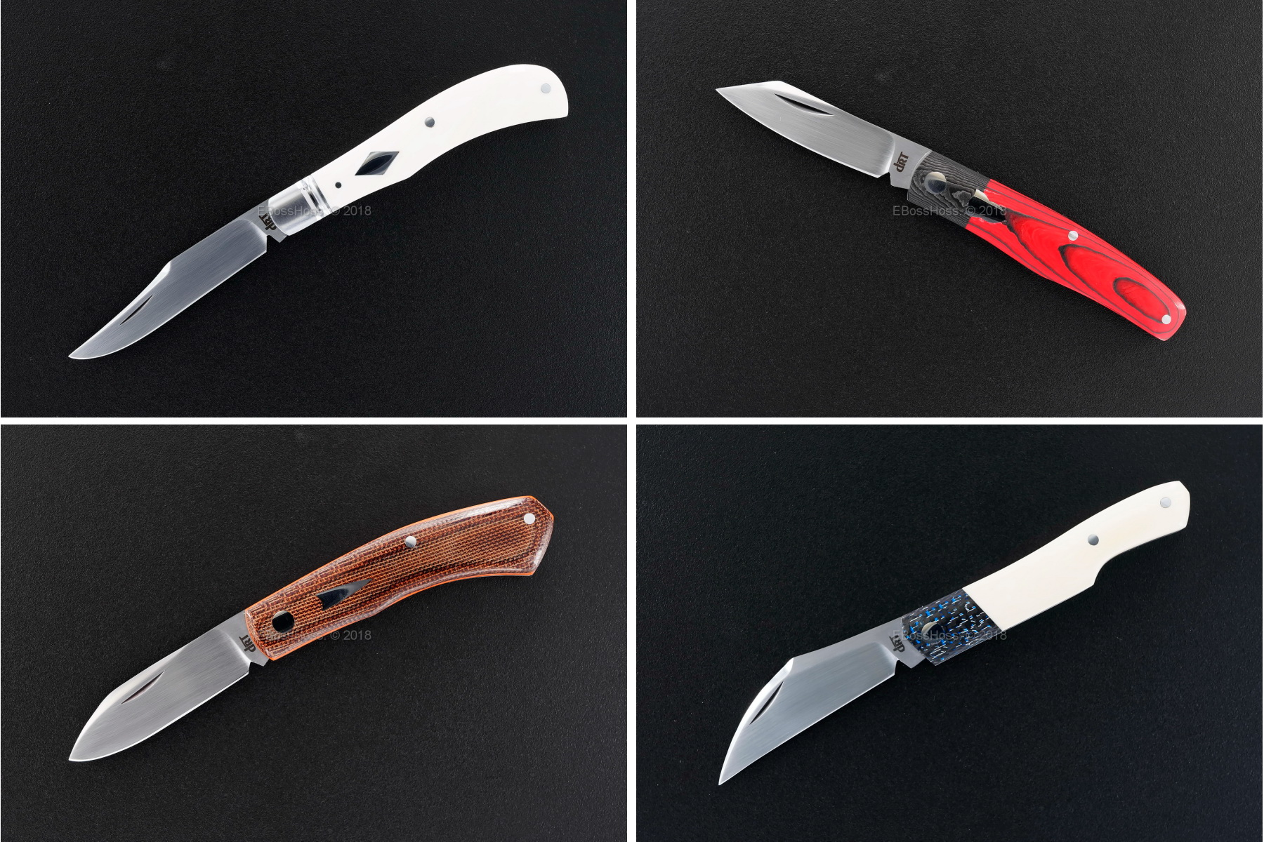 Dr T Knives / David Taber Custom Slipjoint Folders
