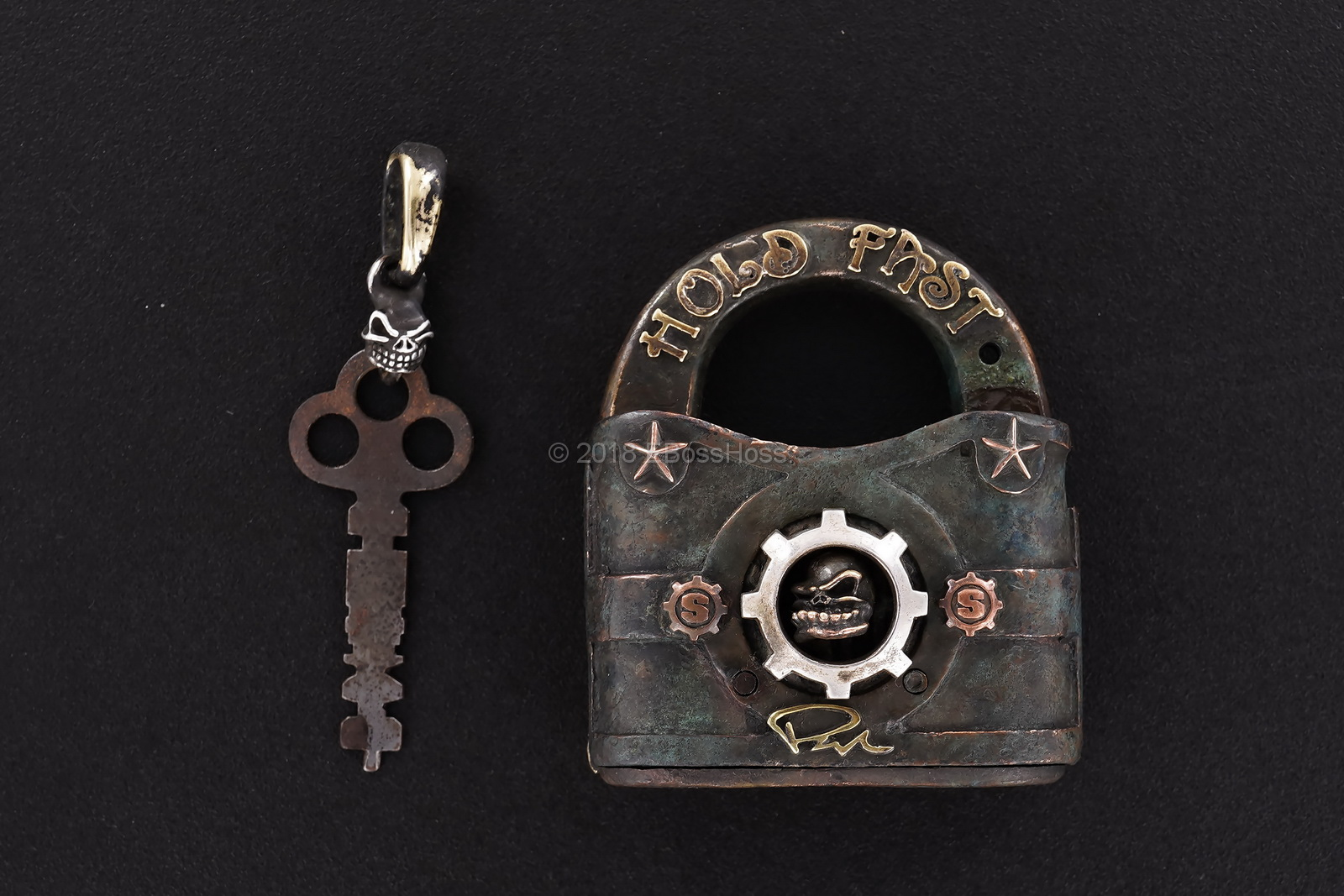 Starlingear Custom Vintage Lock & Key