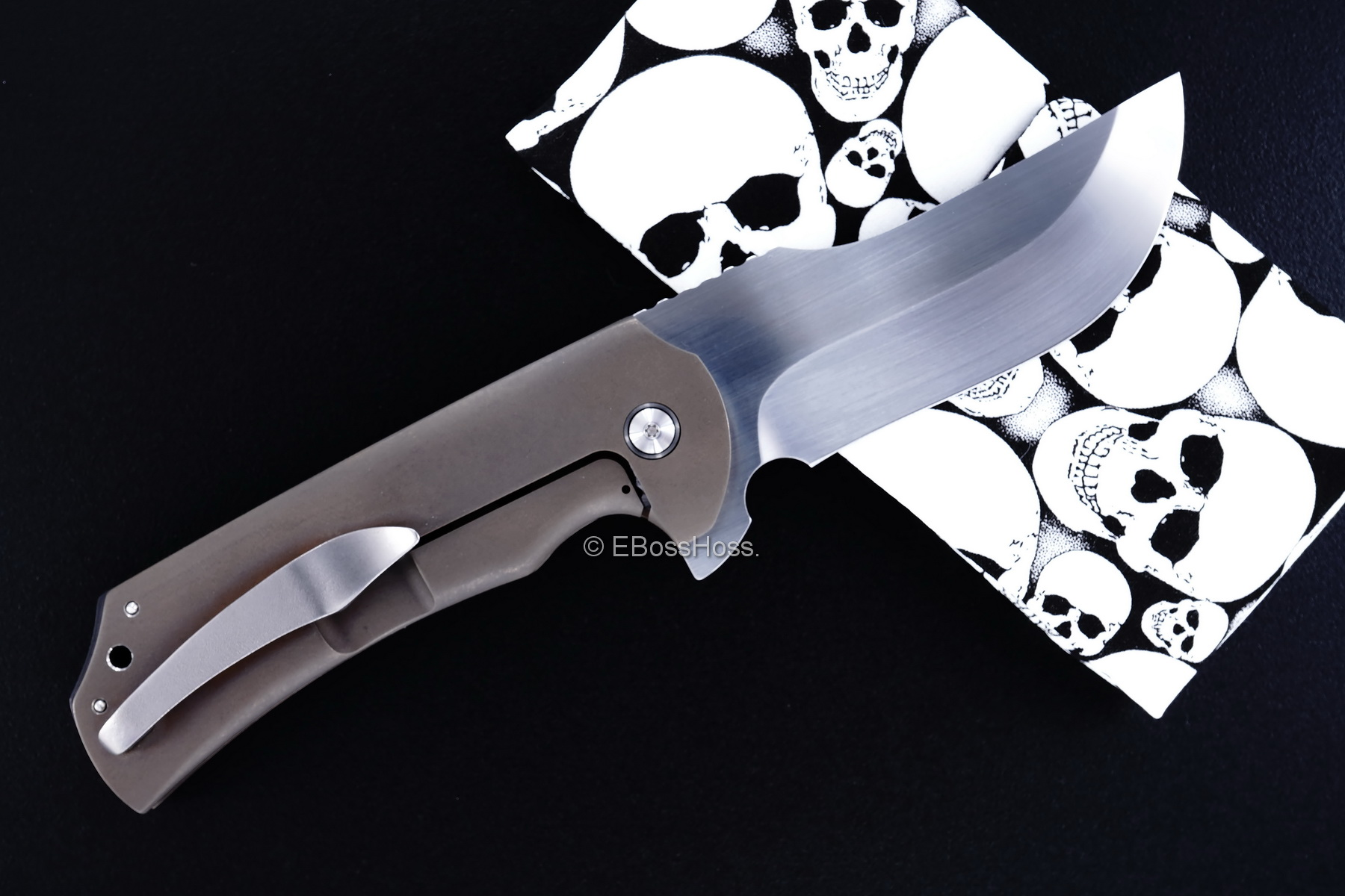 Michael Burch Custom Peranto Framelock Flipper