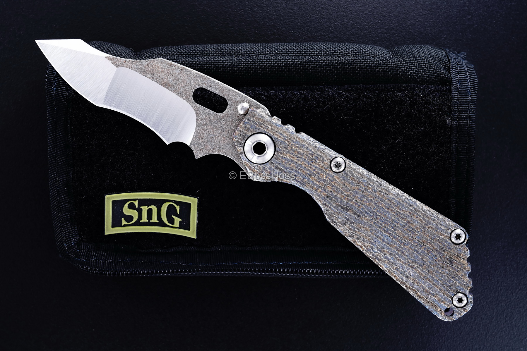 Mick Strider (MSC) Custom Magma NM Recurve SnG - Finish Texture by Forrest Strider
