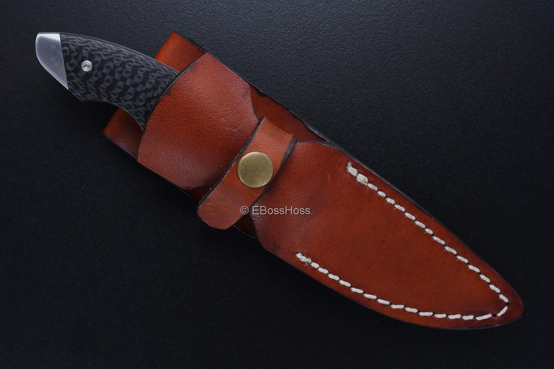 Kansei Matsuno Custom Loveless-style Sheath Knife / Push-Dagger Convertible