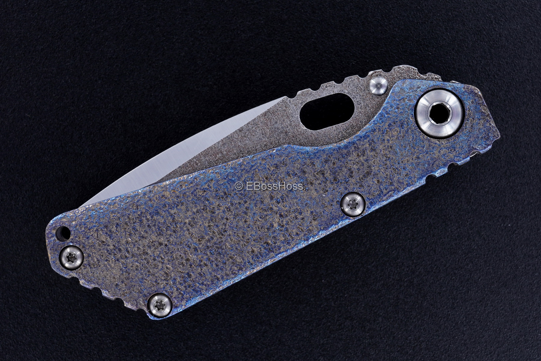 Mick Strider Custom (MSC) Nightmare SnG - Copper- Texturing by Forrest Strider