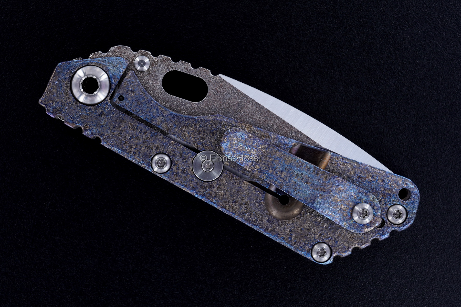Mick Strider Custom (MSC) Nightmare SnG - Copper- Texturing by Forrest Strider