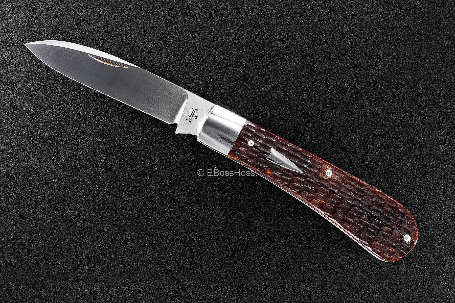 Tony Bose Custom Zulu Spear Slipjoint