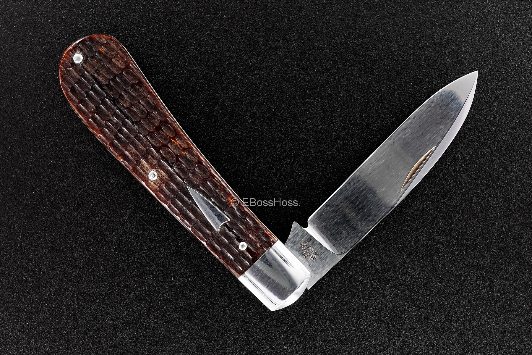 Tony Bose Custom Zulu Spear Slipjoint