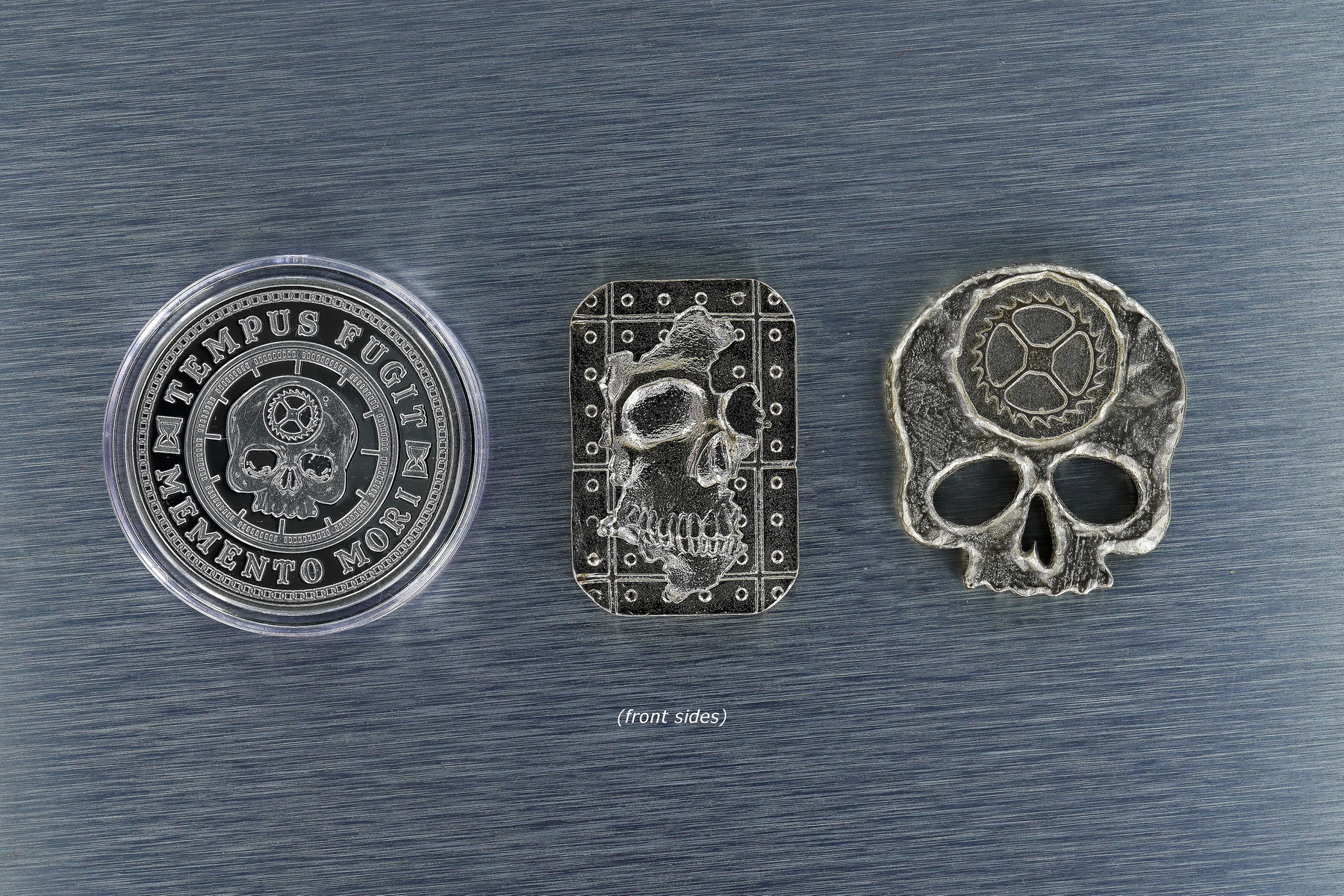 Carpe Diem Trifecta - In Silver -- Created by Jim Wirth